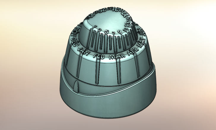 SOLIDWORKS Part Reviewer: Calendar Dial Tutorial