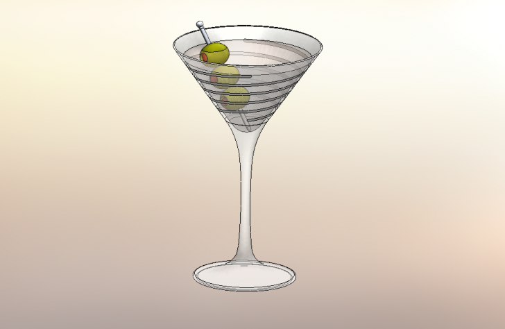 SOLIDWORKS Part Reviewer: Martini Glass Tutorial