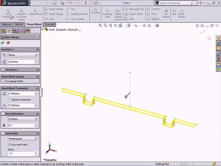 SOLIDWORKS Tech Tip: Intro to Sheet Metal