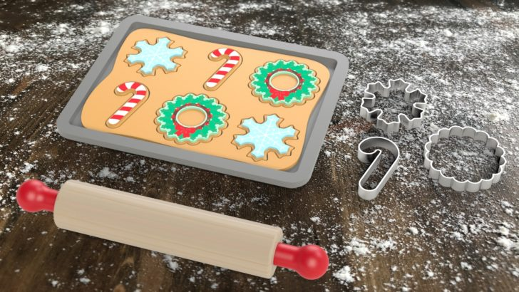Festive Toy Baking Set Tutorial