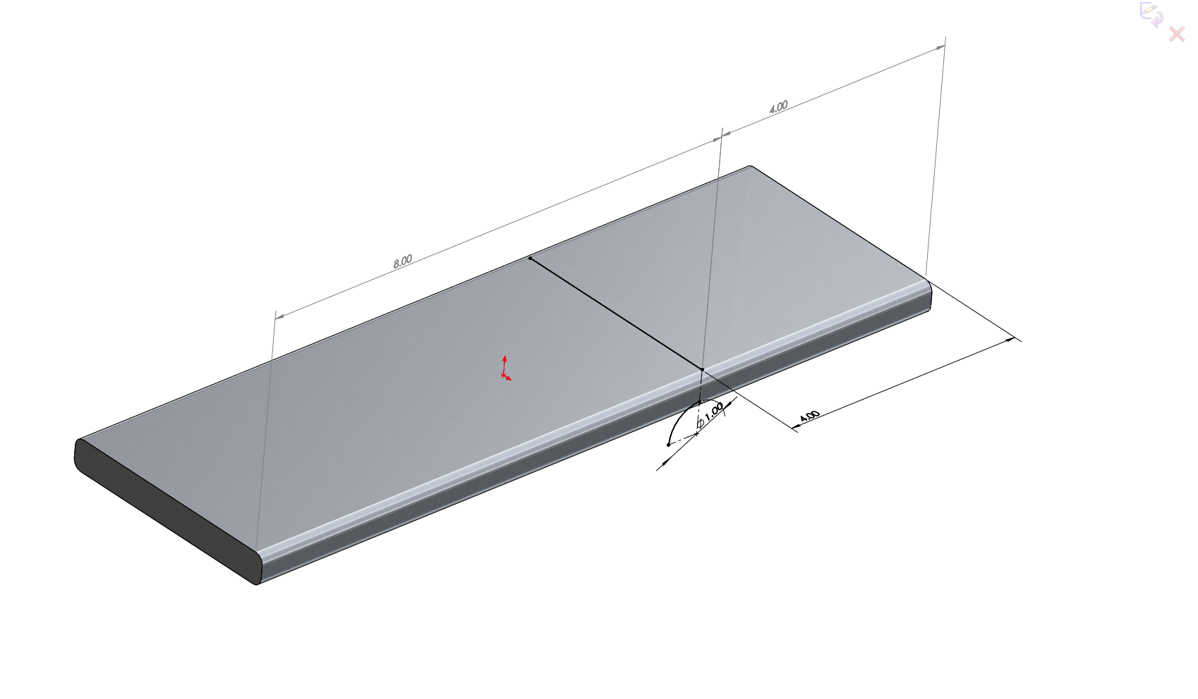 Using The Flex Feature Effectively Bending Tutorials Archives Circuit Bent Figure 2 Specifying Bend Line And Radius Of