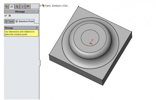 how to create forming tool in solidworks