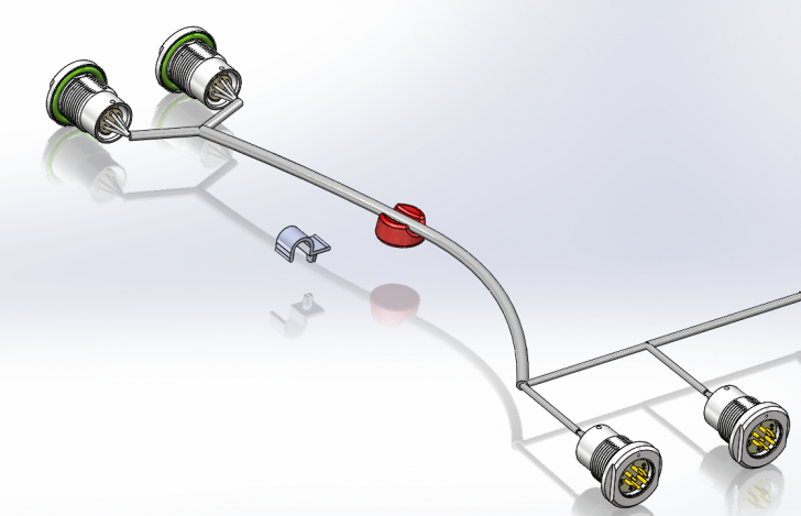SOLIDWORKS Electrical – The Fruit Pastille Cable Clip