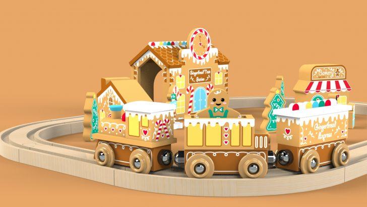 Gingerbread Train Set Tutorial – Part 1