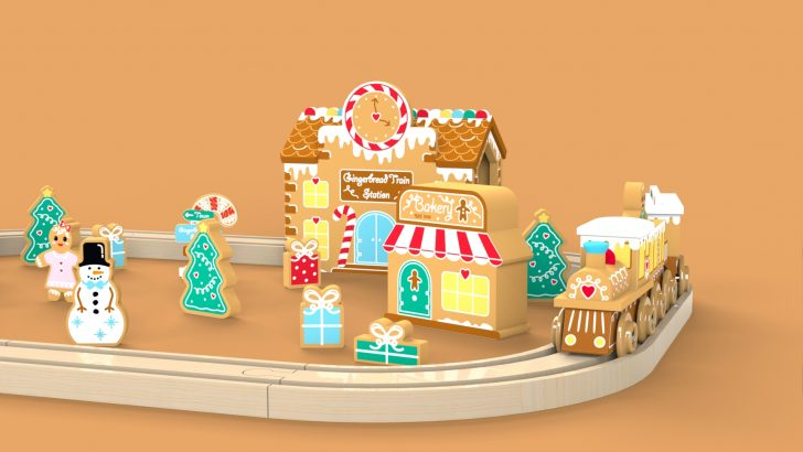 Gingerbread Train Set Tutorial – Part 2