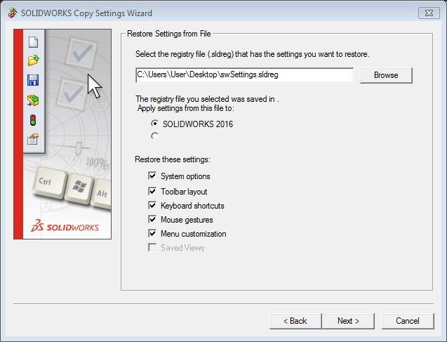 Copy Setting Wizard Made Easy