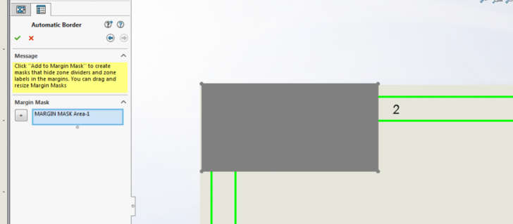 SOLIDWORKS Drawings – Automatically Create a Border