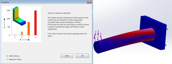 Top 3 Useful Enhancements in SOLIDWORKS Simulation 2017