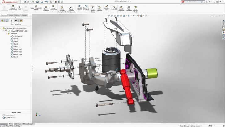 What's New in SOLIDWORKS 2018: Smart Explode Lines