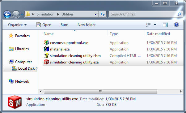 Dirty file? Clean it up, with the SOLIDWORKS Simulation Cleaning Utility