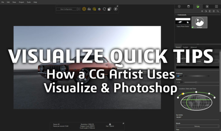 SOLIDWORKS Tech Tip – How a CG Artist Uses Visualize and Photoshop