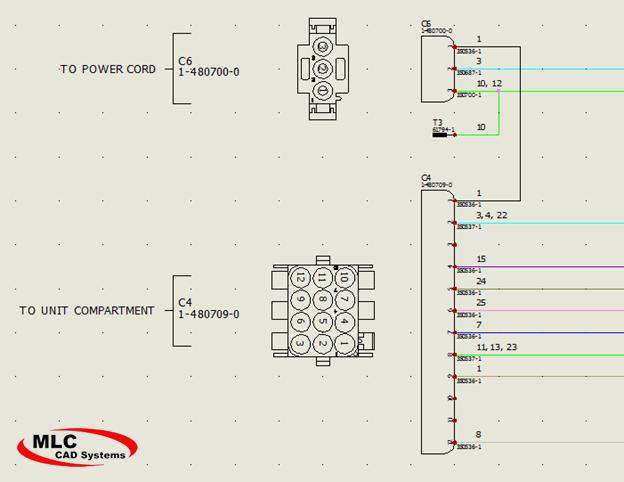 wire harness design in solidworks electrical 30Awg Wire assembly of several pieces these can be quickly added to the connector component to get an accurate bom which can be sorted by harness or by component