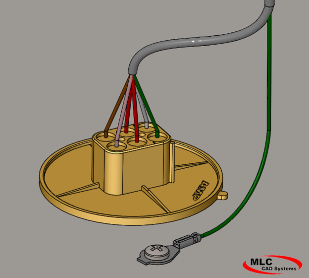 image 3 wire harness design in solidworks electrical wire harness bundle retainer at soozxer.org