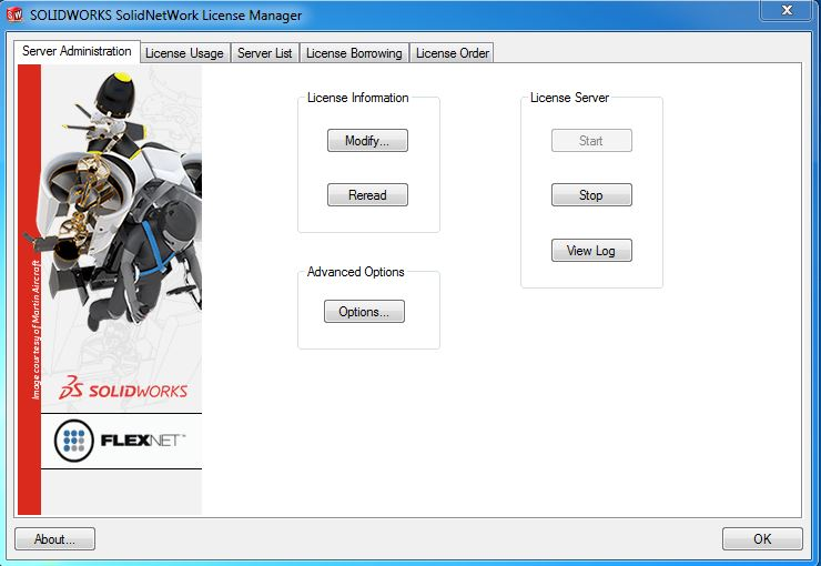 SolidNetWork License Manager 1