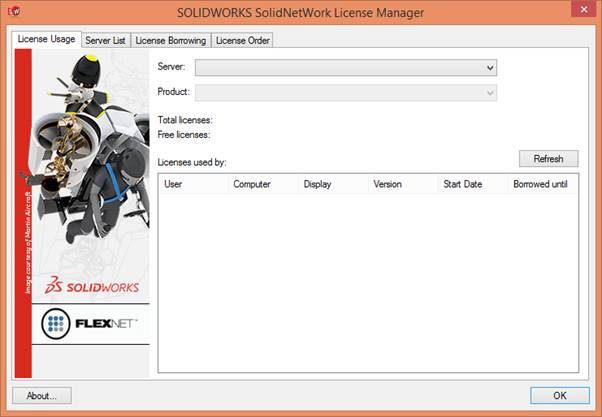 SolidNetWork License Manager 2