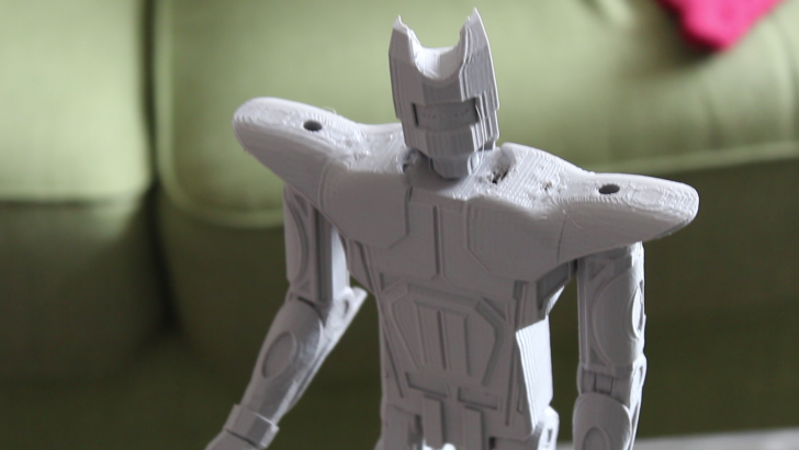 Designing and 3D Printing a Mech Warrior in SOLIDWORKS