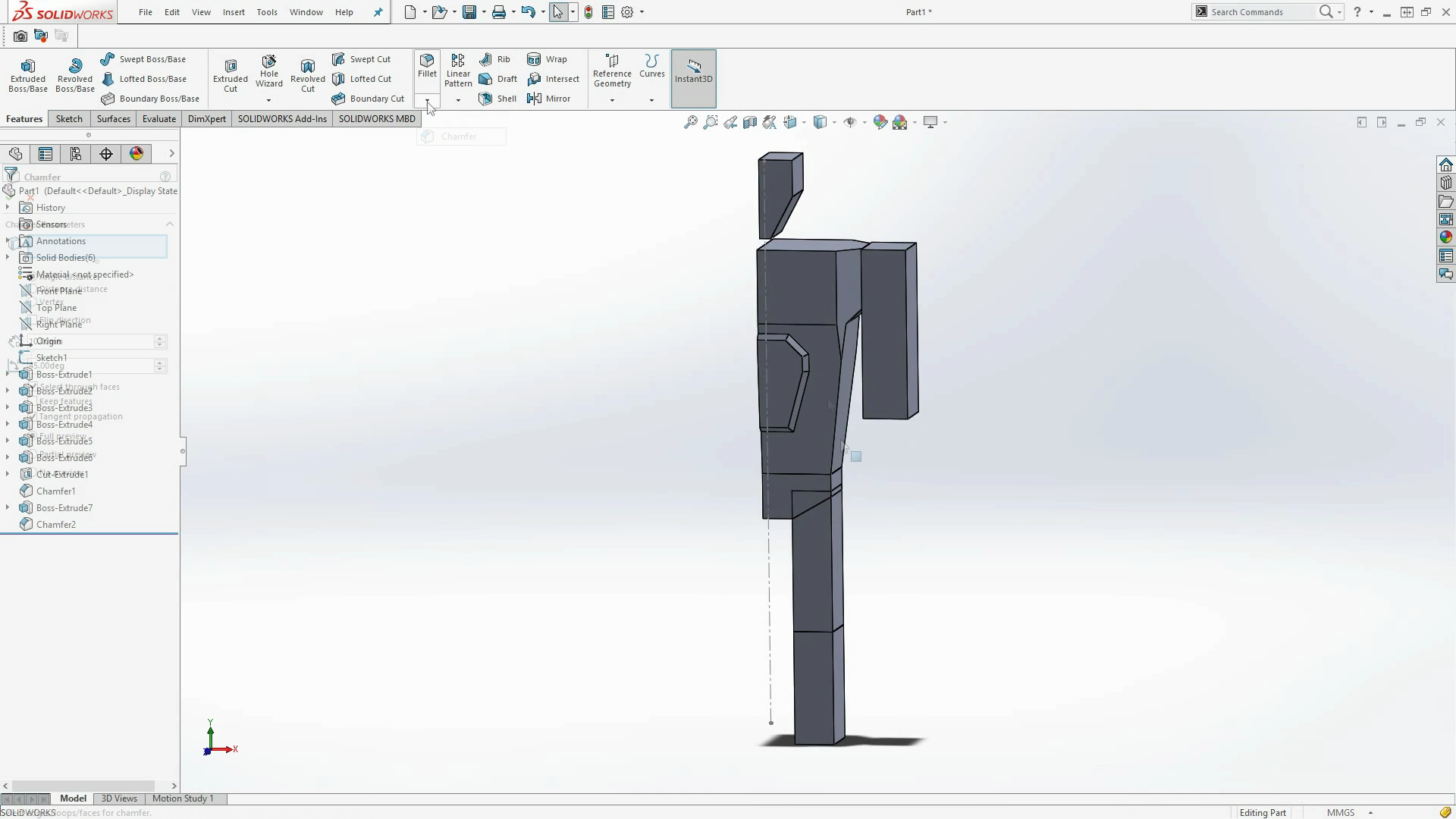 how to make a part 3d printable in solidworks