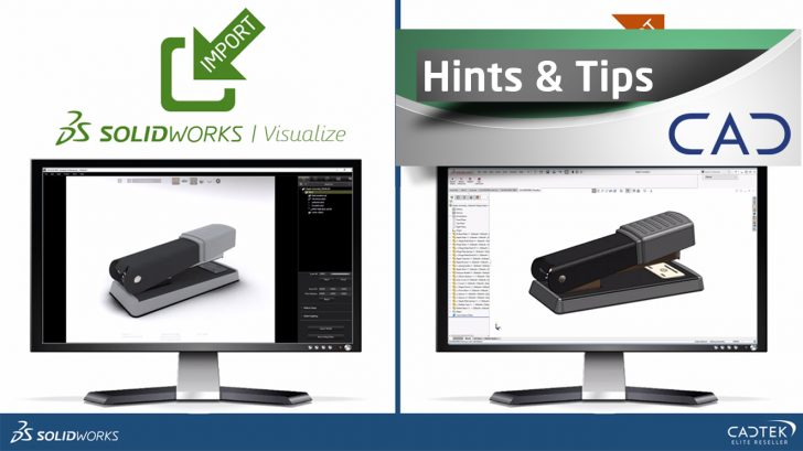Importing CAD data to SOLIDWORKS Visualize