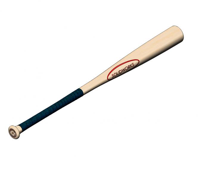 SOLIDWORKS Part Reviewer: Baseball Bat Tutorial