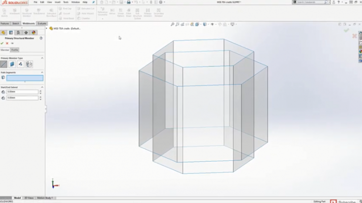 Benefits of the Structure System Tool in SOLIDWORKS 2019