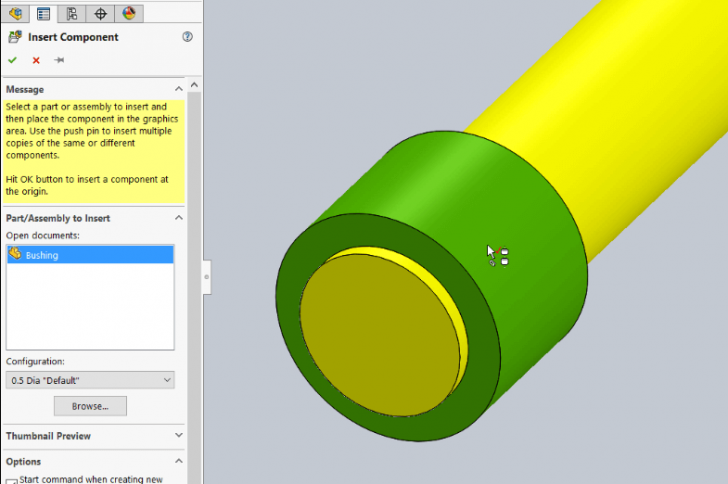 How to make SOLIDWORKS Smart Components even smarter with Autosize