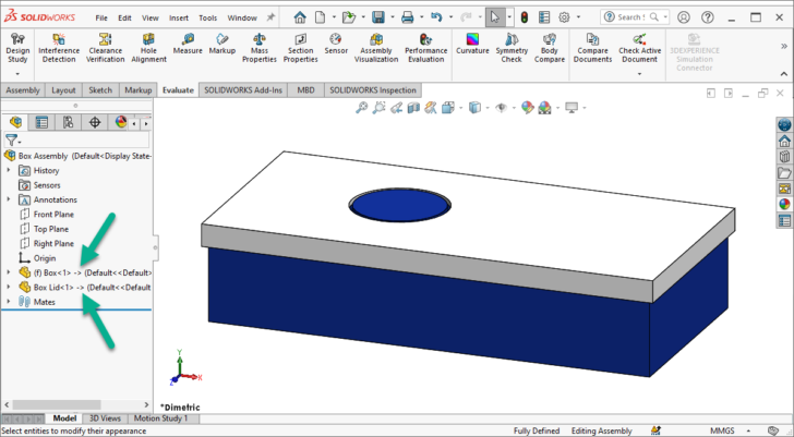 SOLIDWORKS 2021: Circular Reference Detection
