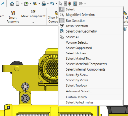 SOLIDWORKS Custom Search