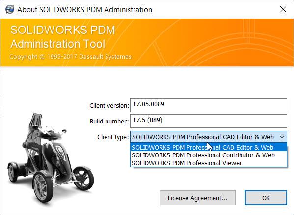 Change PDM license type