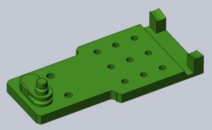 solidworks how to cut a part in two
