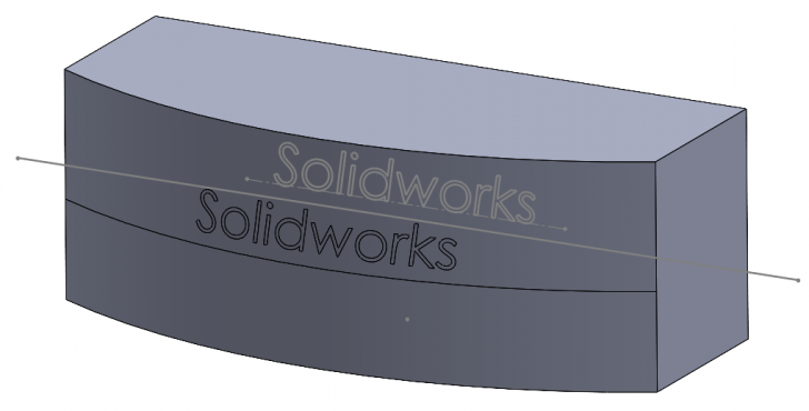 Best selection of sketch projection tools in SOLIDWORKS