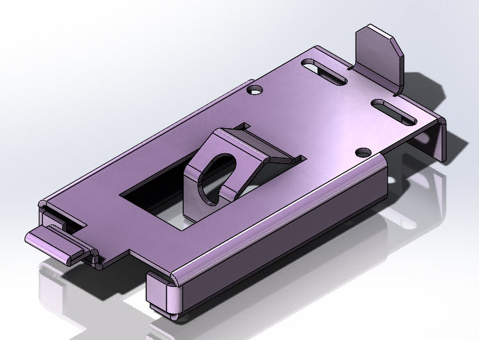 Solidworks Part Reviewer Moderate Sheetmetal Part 1