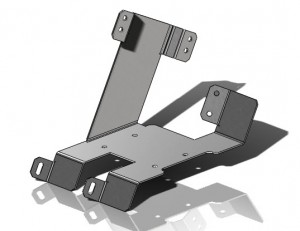 Solidworks Part Reviewer Mounting Bracket