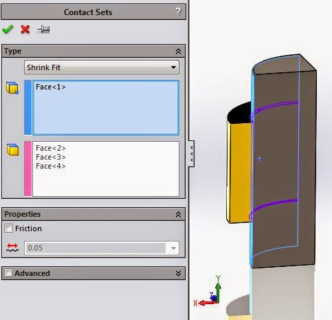 SOLIDWORKS SIMULATION TECH TIP: Shrink Fits and Press Fits