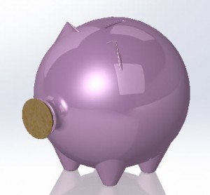 Solidworks Part Reviewer Piggy Bank Tutorial