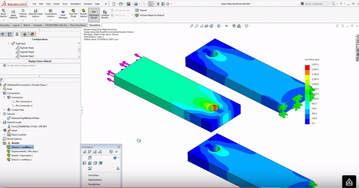 SOLIDWORKS Simulation Step-up Series: Pin Connectors