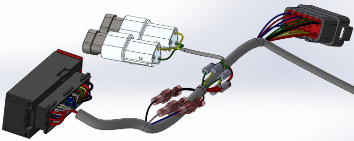 Hybrid Routing: Utilizing SOLIDWORKS Routing with SOLIDWORKS Electrical Routing