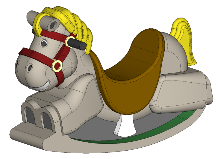 SOLIDWORKS Part Reviewer: Rocking Horse