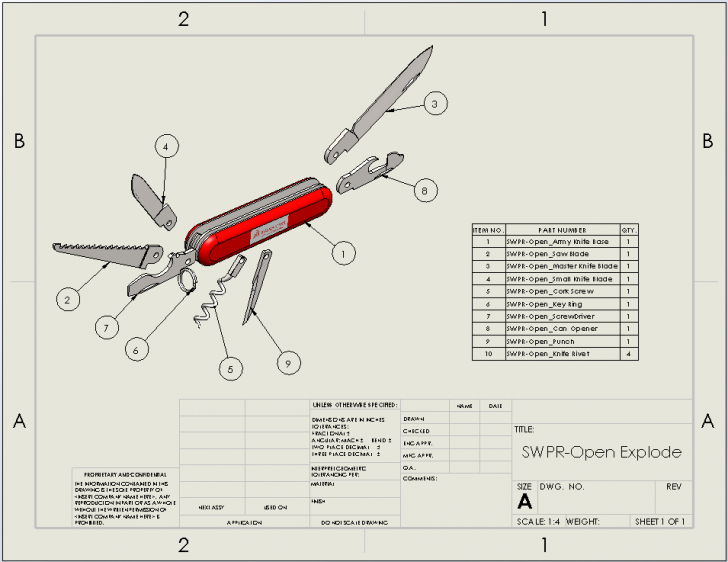 SOLIDWORKS Tech Tip: Sheet Format vs Drawing Sheet