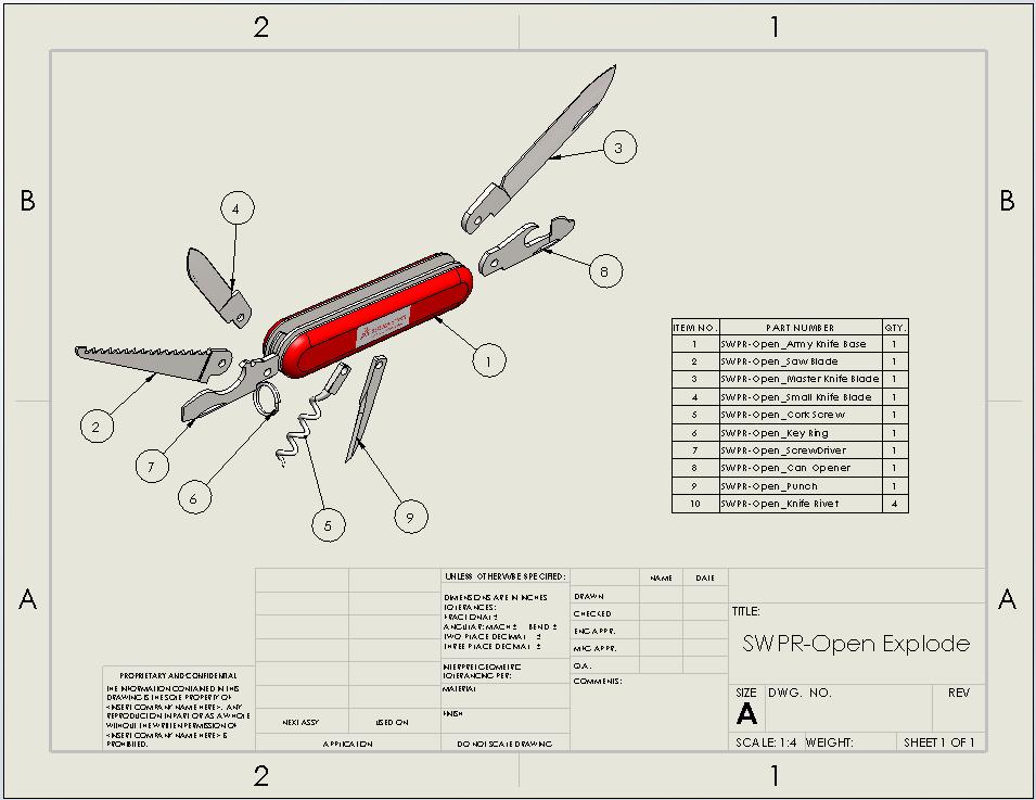 solidworks tech tip  sheet format vs drawing sheet