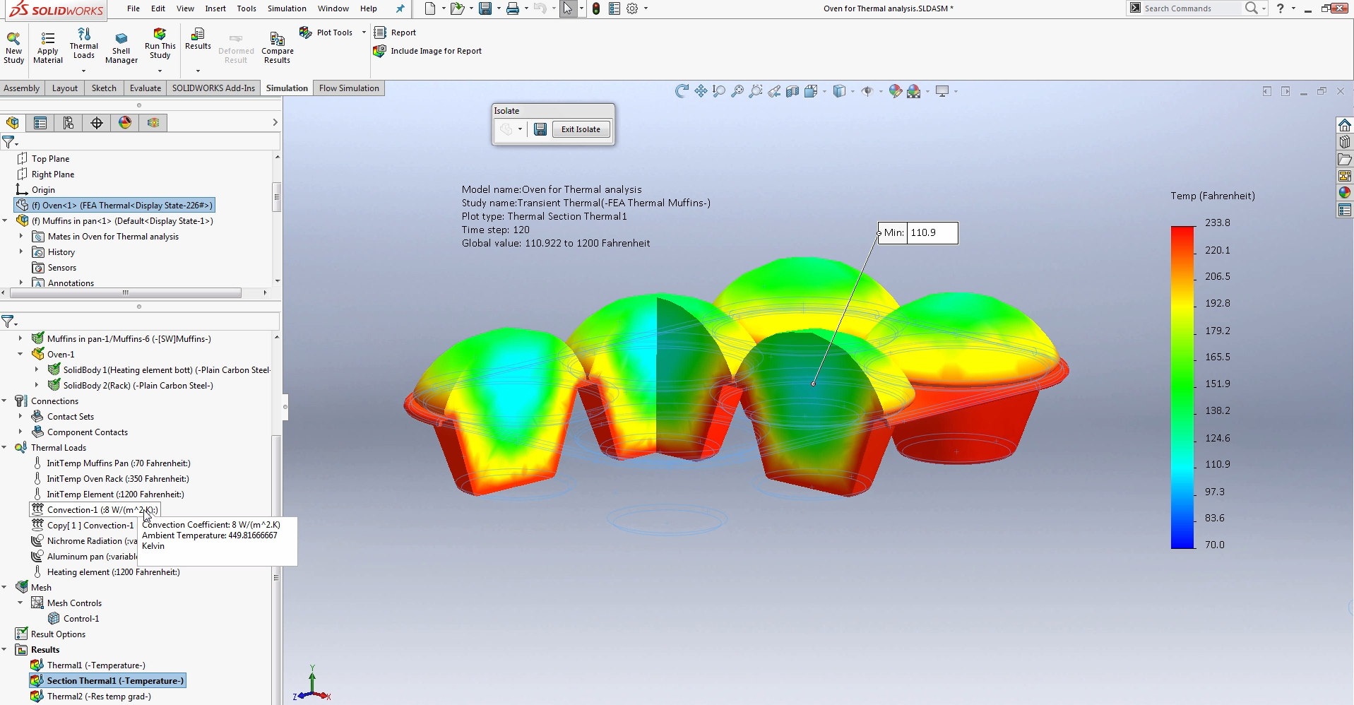 Solidworks simulation step up series thermal analysis baditri Images