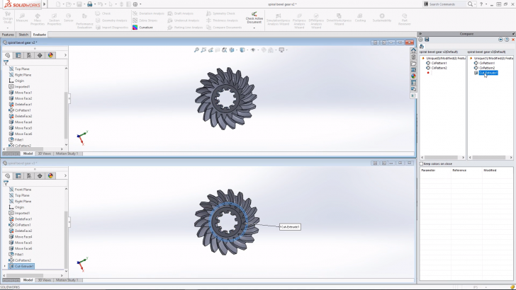 SOLIDWORKS Tech Tip: Compare Documents Command