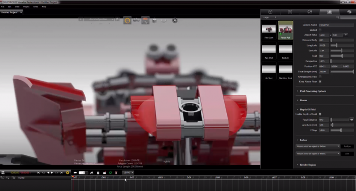 Camera Techniques in SOLIDWORKS Visualize – 5 Easy Shots to Recreate