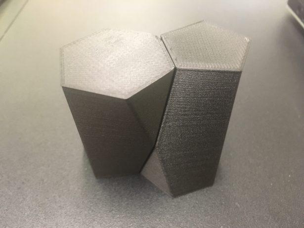 3D Printed Scutoids