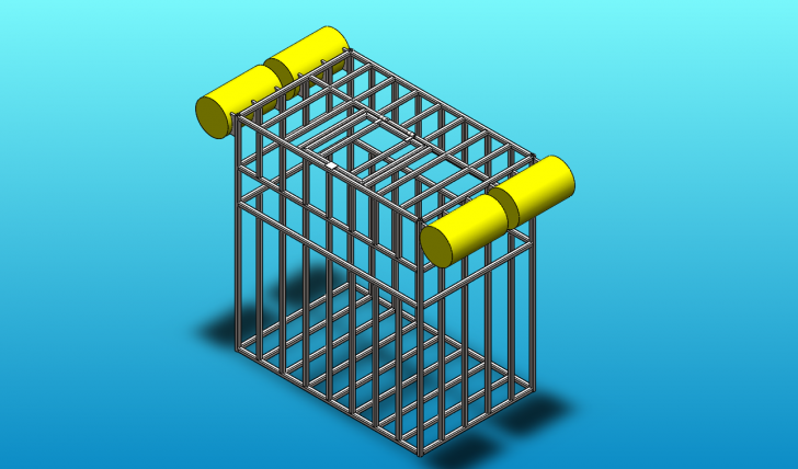 SOLIDWORKS Part Reviewer: Shark Cage Tutorial