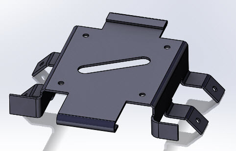 Solidworks Part Reviewer Simple Sheet Metal Part 1 Tutorial