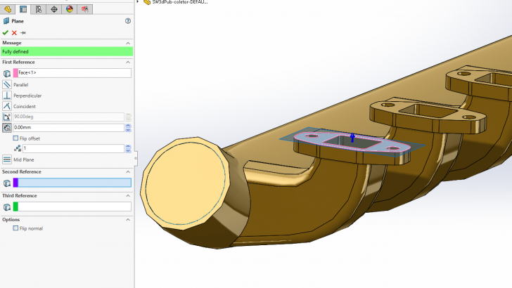 SOLIDWORKS – Creating Internal Volumes Using Intersect