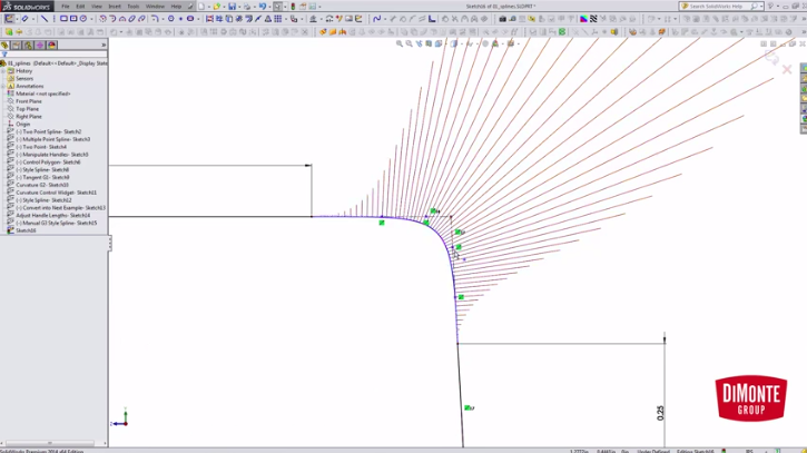 Parametric G3 Connections in SOLIDWORKS