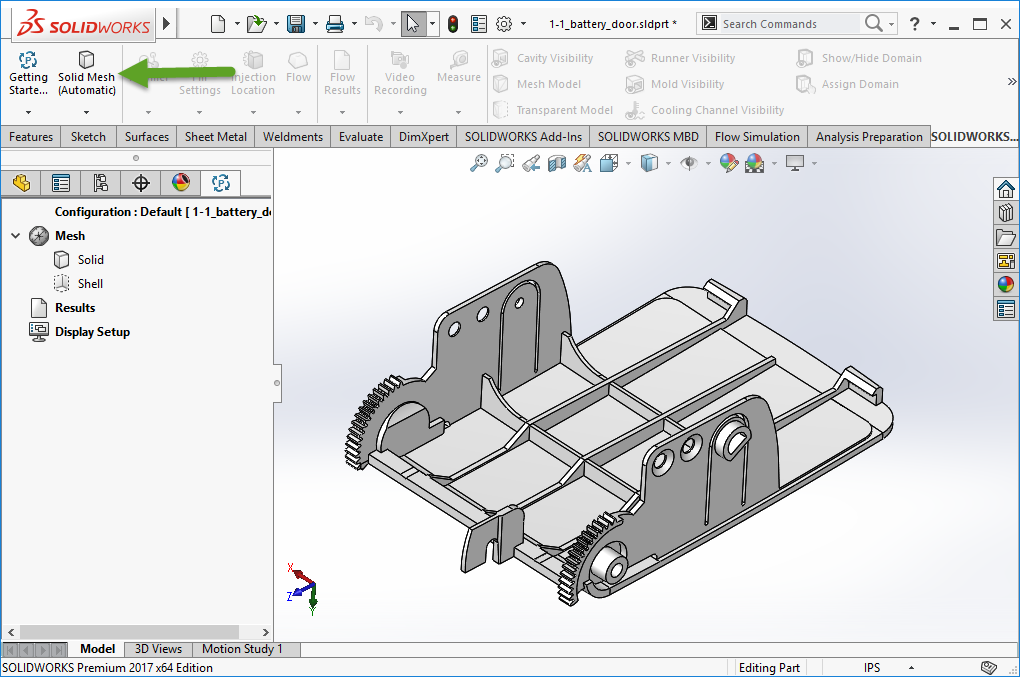 getting started with solidworks plastics mysolidworks rh my solidworks com