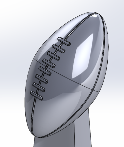Winning It All With SOLIDWORKS: The Super Bowl Trophy