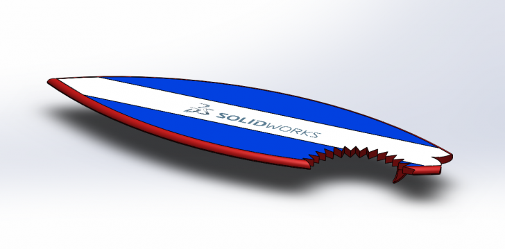 SOLIDWORKS Part Reviewer: Surfboard Tutorial